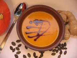 Hokkaido-Kuerbis-Suppe