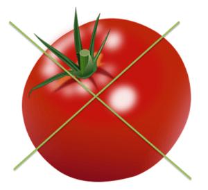 Falsche Tomatensosse