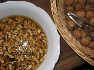 Nüsse einweichen