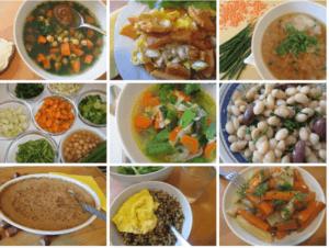 Wochenplan zur Makrobiotischen Heilküche