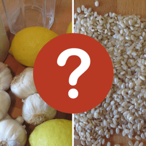 Reisfasten oder Knoblauch-Zitronen-Kur - wer braucht was?